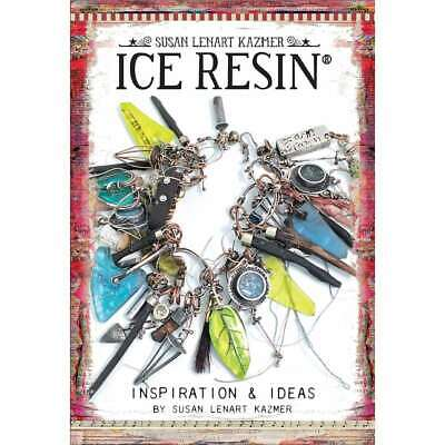 Ice Resin Mixed Media Technique Book Inspiration & Ideas 789541055730