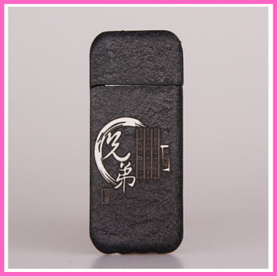 Black Matting Pearl Ultrathin Grinding Wheel Flame Lighter cadeau homme Creative