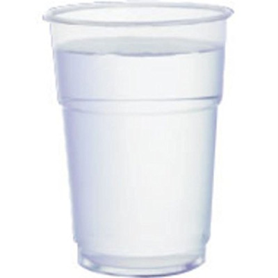 Plastico AP200-10 Tumbler Flex-Glass, 1/2 pint Stamped to Line (Pack of 1000)