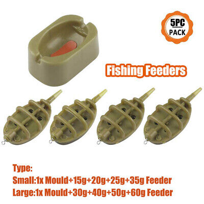 Drennan In-Line Flat Carp Method Feeder Kit WIth Mould *All sizes*