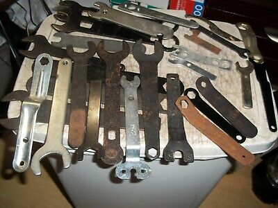 28 Pc Machinist Power Tool Thin Adjusting Wrench Lot Porter Cable Makita Cox +++
