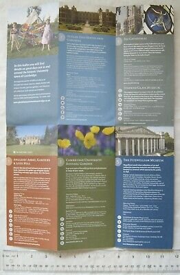 2009 leaflet Great Days Out Around Cambridge