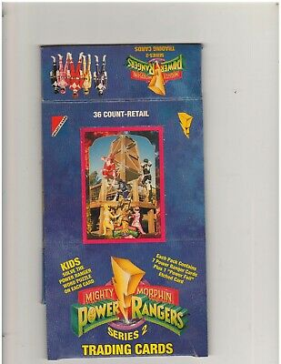 Lot Of 80 1994 Collect-A-Card Power Rangers Series 2 Trading Cards Wax Packs