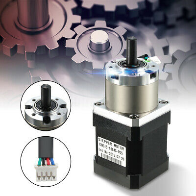 Pro Extruder Gear Stepper Motor Ratio 3.7:1 Planetary Fit For Nema Stepper Motor