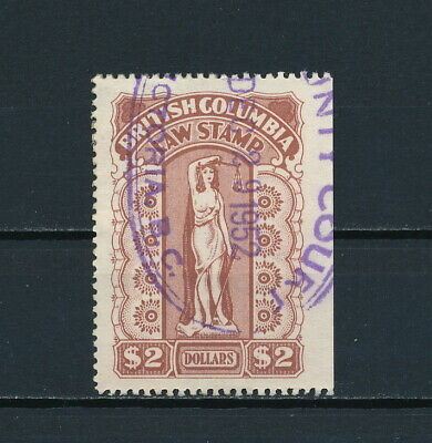 Canada British Columbia  BCL44 Used, BC Law Stamp , 1948