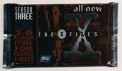 1997 Topps X Files Season 3 Trading Card Pack