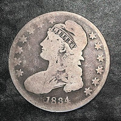 1834 Bust Half - High Quality Scans #E430
