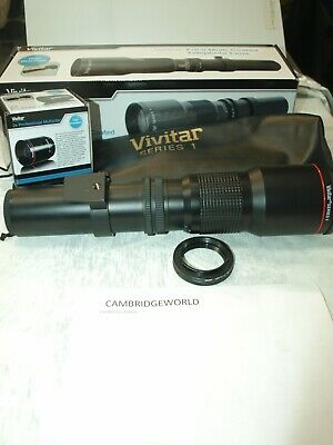 500-1000mm F8.0 VIVITAR SERIES 1 TELEPHOTO LENS OUTFIT  PENTAX K BAYONET MOUNT