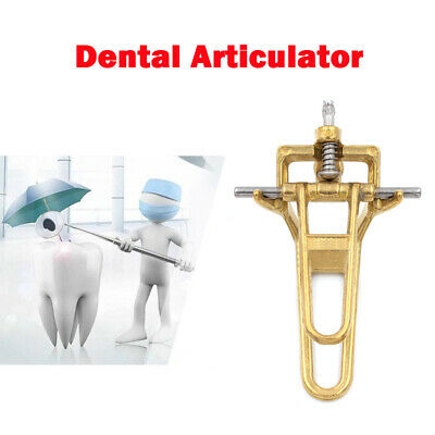 Dental Teeth Adjustable Small Brass Denture Articulator Lab Tools UK New