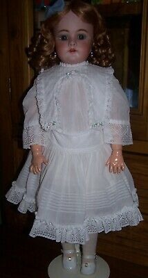 """Antique German Handwerck 99 Doll In Large Size Of 24"""""""