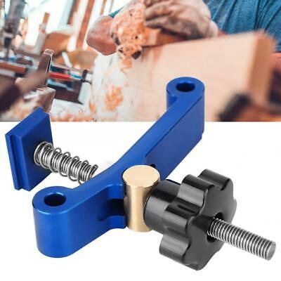 T-tracks Slot Miter Track Fixture Woodworking Pressboard Clamp Hardware Kit Blue