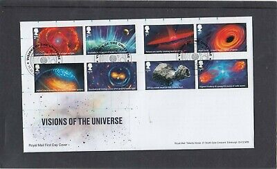 GB 2020 Visions of the Universe Royal Mail FDC First Day Cover Leicester spec pk