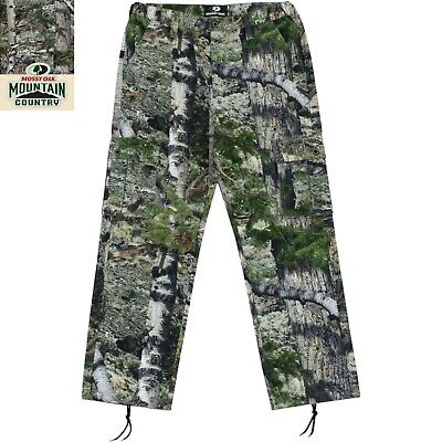 Mens Cargo Pants Mossy Oak® Camouflage Mountain Country Various Sizing New Tags