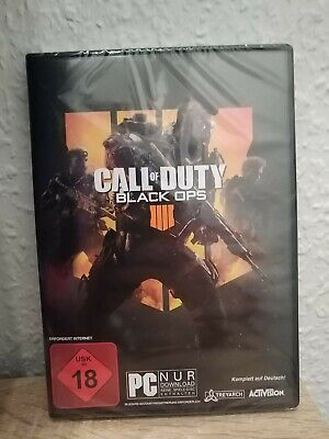 Call of Duty: Black OPS 4 - PC (Code in the Box) - Deutsche Version - Neu & OVP