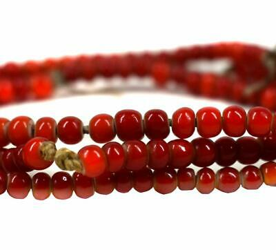 Vintage Seed Trade Beads Red African