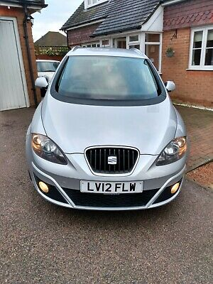 2012 '12' reg Seat Altea XL SE Tdi Ecomotive 1.6 Diesel Estate Car FSH