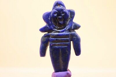 Circa 2200-1800Bce Ancient Indus Valley Harappan Lapis Lazuli Fertility Idol