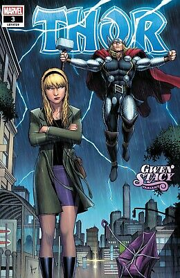 Thor #3 Keown Gwen Stacy Variant Marvel Comic 1st Print 2020 NM