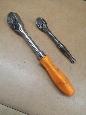 Snap On 1/2  and 3/8 Inch Ratchet