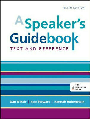 A Speaker's GuideBook 6th Edition(978-1457663536)