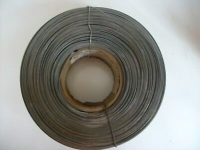 10 lbs. 18 0475 290 galv. high carbon steel metal stitching wire.