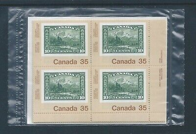 Canada #912 Canada 92 Post Office Sealed Set Plate Block MNH