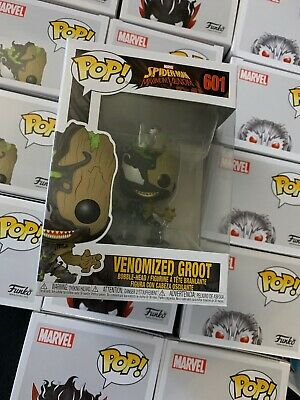 Funko Pop! Marvel: #601 Maximum Venom - Venomized Groot W/Pop Protector