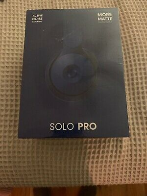 Beats Solo Pro Wireless Noise Cancelling Headphones Dark Blue More Matte New