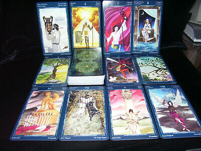 Sealed New! Mystic Spiral Tarot Card Deck Oracle Sacred Geometry Esoteric  Myths