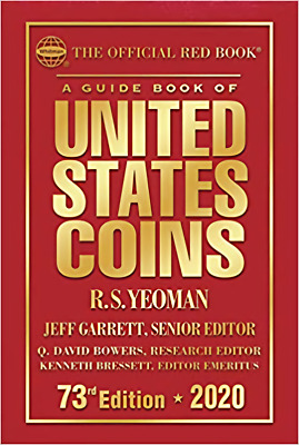 Official Red Book Guide US Coins Price List Hardcover Whitman Catalog..
