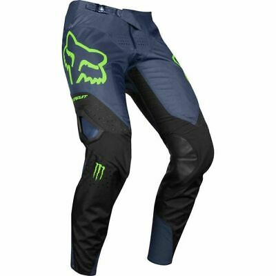 Clearance! Fox 360 Monster Pant Greennavy -  34 Pants -Motocross Mx Offroad