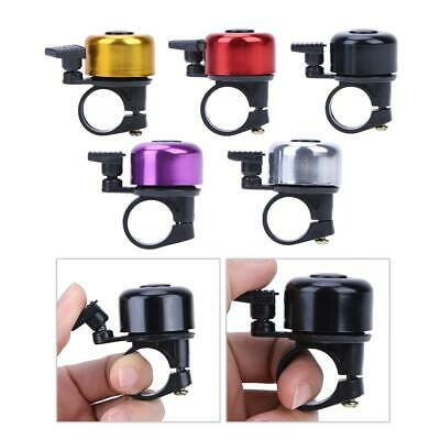90dB Mini Invisible Brass Bicycle Bell Ringer Bike Handlebar Ring Safety /_mC