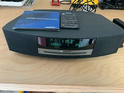 Bose Wave Music System III with DAB Radio, Bluetooth Adaptor and accessories