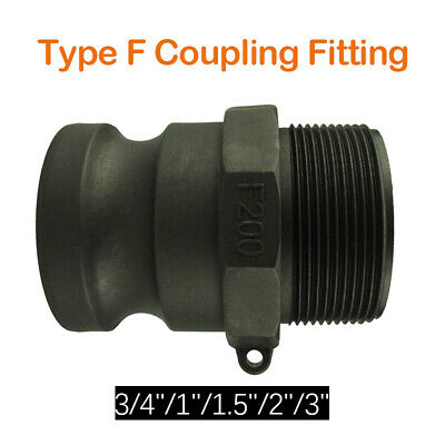 Camlock Hose Coupling Fitting, Male - Type F Cam & Groove 3/4'' 1'' 1-1/2'' 2''