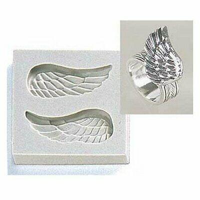 Silicon mold feathers large 6.3g silver clay for silver clay mold