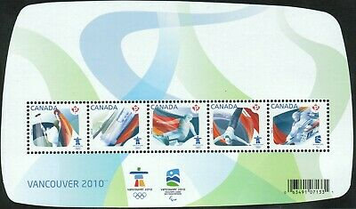Canada sc#2299 Olympic Sporting Events Souvenir-Sheet, Mint-NH