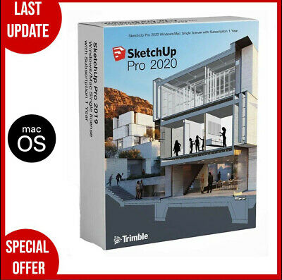 SketchUp Pro 2020 for Mac✔️Full Version✔️Life Time✔️Fast Delivery✔️