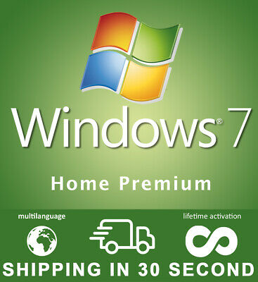 Windows 7 Home Premium - 32/64 Bit - Key Original - Multilingual