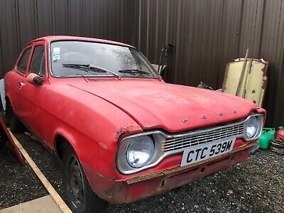 Ford Escort Mk1 2 Door 1.3 1973 very solid Project basis for Resto - Rally RS