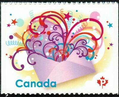 Canada sc#2314 Celebration in the Mail, Unit from Booklet Bk400, Mint-NH