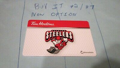 Selkirk Steelers Mjhl Tim Hortons 2019 6176 Series Fd 57052-1 Tim Card $Zero #7