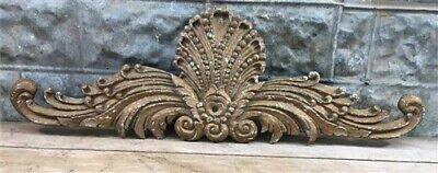 ARCHITECTURAL CROWN CREST FLEXIBLE SALE! SHABBY /& CHIC FURNITURE APPLIQUES