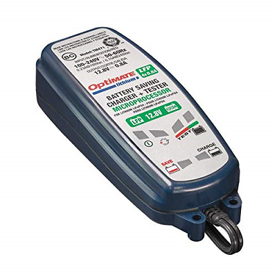 OptiMate Lithium 4s 0.8A 12V LiFePO4 Motorcycle Automatic Battery Charger