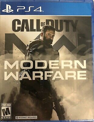 Call of Duty: Modern Warfare with Limited Edition Dog Tags Brand New 2019 PS4