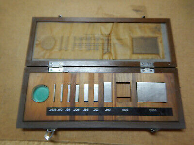 Mitutoyo Gage Block Set 516-931 Machinist Tool In Box
