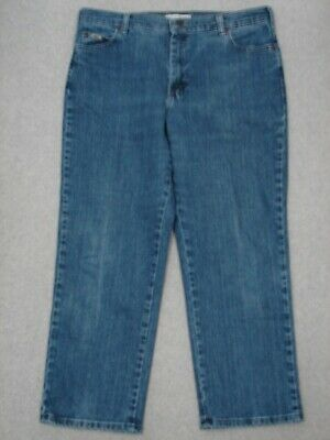 QA09445 **LEE** AT THE WAIST RELAXED STRAIGHT LEG WOMENS JEANS sz16P