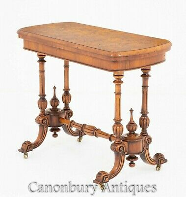 Victorian Card Table - Walnut Antiques Games Tables 1870