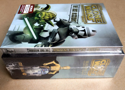 Star Wars The Clone Wars Season 1-6 Complete Series Collection 1 2 3 4 5 6 1-5+6