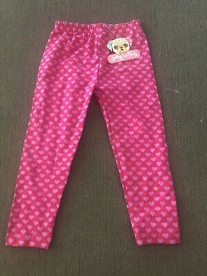 NWT Jelly The Pug Heart Leggings Valentines Day Size 4