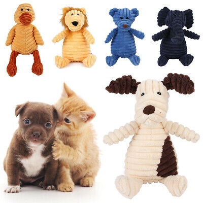 Funny Soft Pet Puppy Play Chew Squeaker Squeaky Cute Plush Sound For Dog Toys